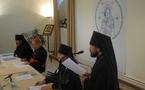 Discours de Mgr Hilarion à l'inauguration du séminaire