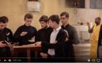 Reportage sur le camp d'été des séminaristes russes et ukrainiens à Quincy l'été dernier