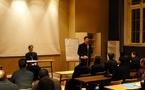 Conférence du hiéromoine Alexandre au séminaire d'Issy-les-Moulineaux