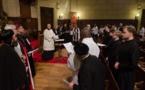 Le choeur du Séminaire à la prière parisienne pour l'unité des chrétiens