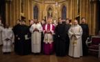 Prière pour l'unité des chrétiens à la cathédrale de Dijon. Reportage d'Alexey Vozniuk
