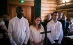 Première liturgie de Pâques et baptême de Michaël, Sandrine et Florian