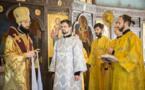 Le moine Irénée Gribov a été ordonné diacre