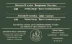 Horaires des célébrations orthodoxes à l'église russe de Sylvanès