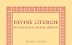 Parution aux Éditions du Séminaire de la Liturgie de Saint Jacques, frère du Seigneur, en slavon et en français