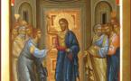 """""""J'ai été devant vous faible, craintif et tout tremblant"""". Sur la faiblesse des apôtres. Homélie pour le dimanche de l'octave de Pâques"""