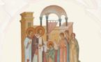 Le livre-album sur les fresques et les icônes de l'église Saint-Martin et Sainte-Geneviève peut être commandé sur Amazon.fr
