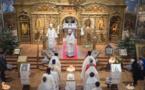 Reportage vidéo sur l'inauguration de l'église Saint-Nicolas à Nice