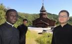Trois de nos séminaristes passent le mois de juillet à Sylvanès