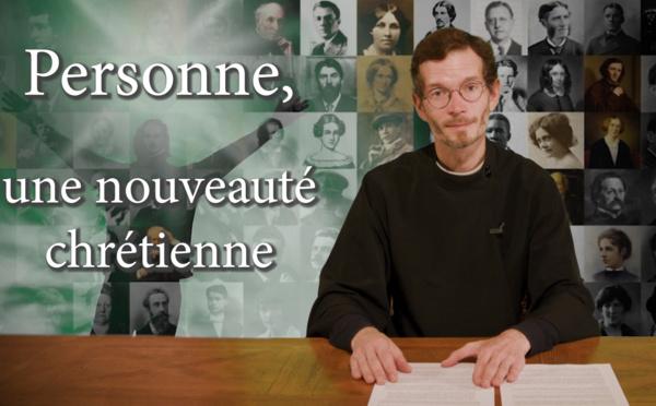 """""""SCHOLIES"""" par Alexandre Siniakov. Émission 4: """"Personne, une nouveauté chrétienne"""""""