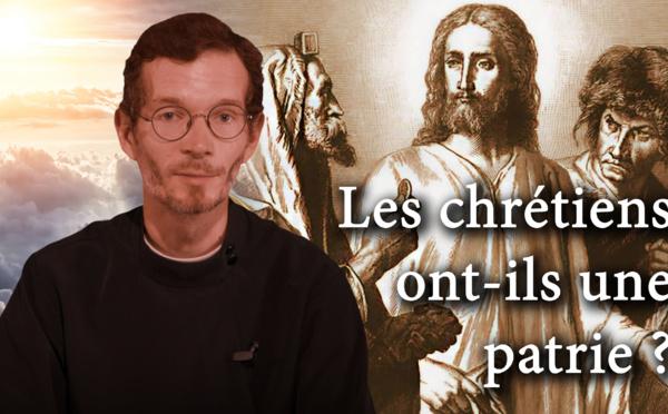 """""""SCHOLIES"""" par Alexandre Siniakov. Émission 6: """"Les chrétiens ont-ils une patrie?"""""""